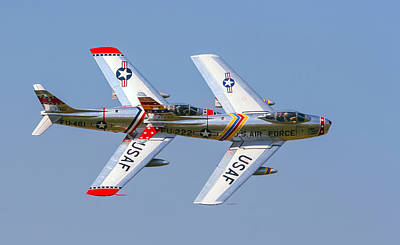 Tight Formation Art Print by Allan Levin