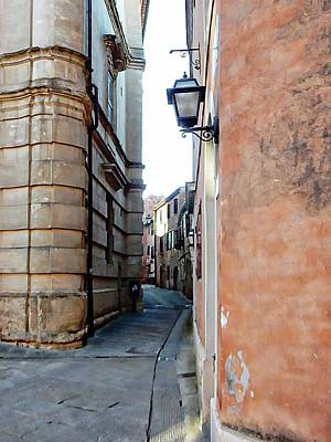 Photograph - Tight Squeeze For A Car Citta Della Pieve Umbria by Dorothy Berry-Lound