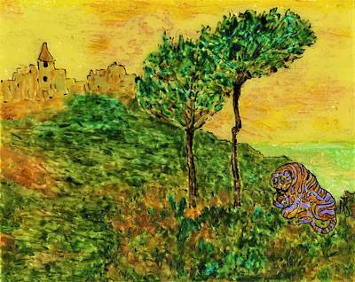 Painting - Tigre Solitaire by Phil Strang