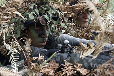 Tigres Commandos Demonstrate Art Print by Stocktrek Images