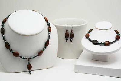 Copper Bracelet Jewelry - Tigress by Jerri Nielsen