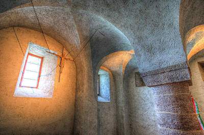 Photograph - Tihany Benedictine Abbey Crypt by David Pyatt