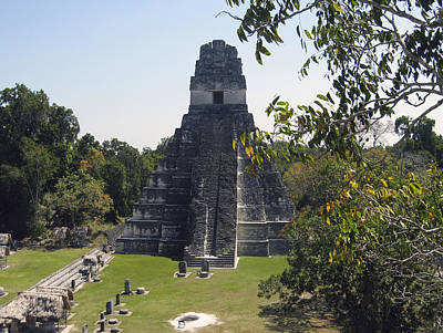 Photograph - Tikal I by Kurt Van Wagner