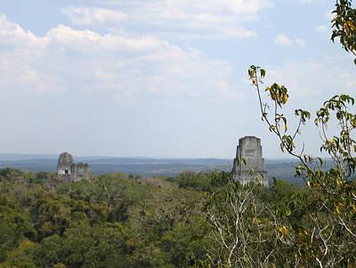 Photograph - Tikal IIi by Kurt Van Wagner
