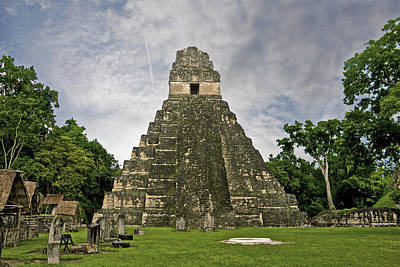 Photograph - Tikal by Marius Sipa