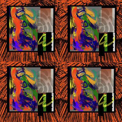 Digital Art - Tiki Dance by Janis Kirstein