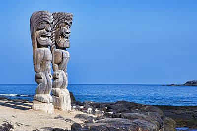 Photograph - Tikis In Paradise by Kelley King