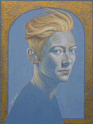 Painting - Tilda Swinton by Jovana Kolic