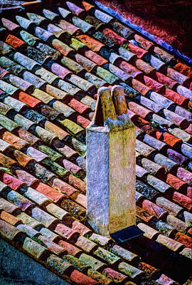 Edward Hopper - Tile roof, Spain by Mike Penney