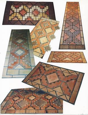 Ceramic Art - Tiled Rug Kits by Patrick Trotter