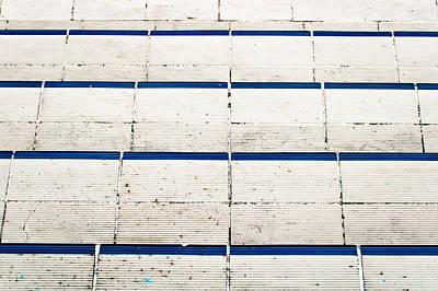 Tiled Steps Art Print