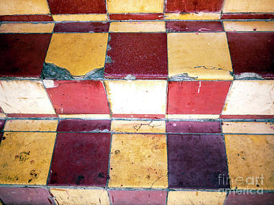 Photograph - Tiles In Cartagena by John Rizzuto