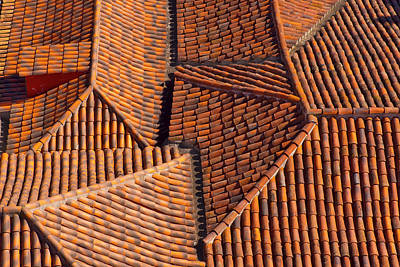 Tenerife Photograph - Tiles Kiss by Jean-luc Bohin