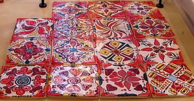 Ceramic Art - Tiles by Lisa Dunn