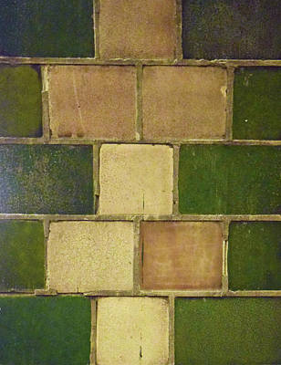 Photograph - Tiles No. 35-1 by Sandy Taylor