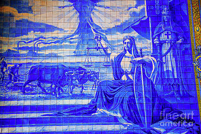 Photograph - Tiles Of Justice by Rick Bragan