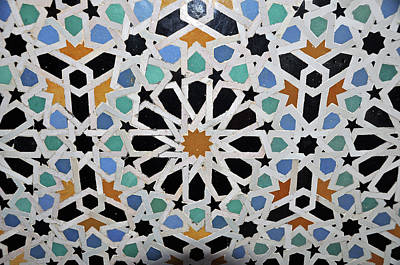 Photograph - Tiles Of Morocco by Allan Rothman