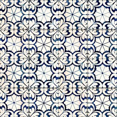 Photograph - Tiles Souvenir Lisbon by For Ninety One Days