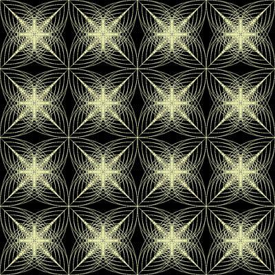 Geometric Digital Art - Tiles.2.208 by Gareth Lewis