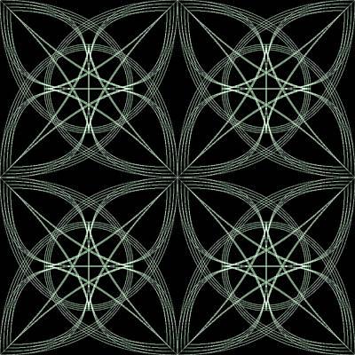 Geometric Digital Art - Tiles.2.238 by Gareth Lewis