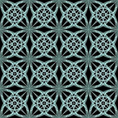 Curves Digital Art - Tiles.2.320 by Gareth Lewis