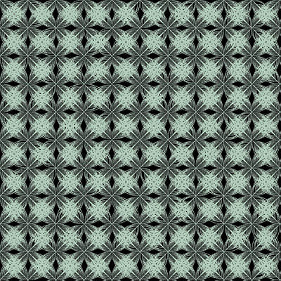 Curve Digital Art - Tiles.2.33 by Gareth Lewis
