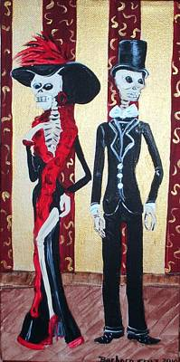 Red Skelton Painting - Till Death Do Us Part by Barbara Cruz