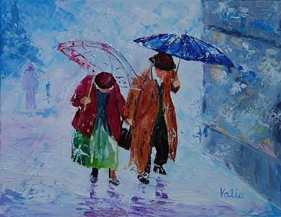 Painting - Till Death Do Us Part. by Valerie Curtiss