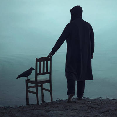 Chairs Digital Art - Till The End by Art of Invi