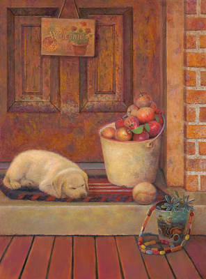 Painting - Till The Kids Come Home by Nancy Lee Moran