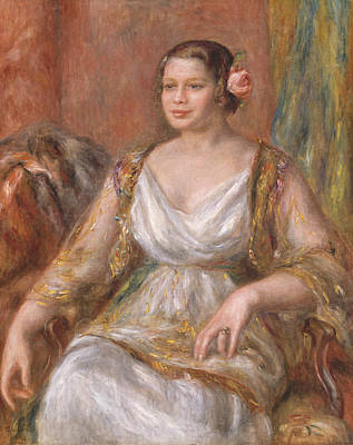 Painting - Tilla Durieux by Auguste Renoir