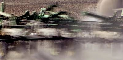 Photograph - Tillage Action by Jerry Sodorff