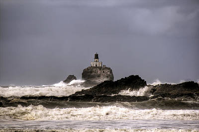 Granger Photograph - Tillamook Lighthouse by Brad Granger