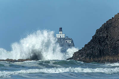 Photograph - Tillamook Rock Light House, Oregon - Terrible Tilly by Kay Brewer