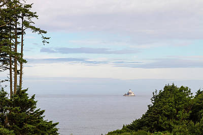 Photograph - Tillamook Rock Lighthouse From Ecola State Park by Jit Lim
