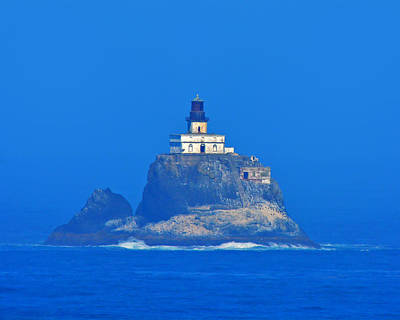 Photograph - Tillamook Rock Lighthouse by Jack Moskovita