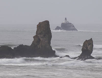 Photograph - Tillamook Rock Lighthouse by Robert Potts