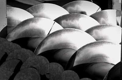 Photograph - Tiller Blades by Kevin Duke