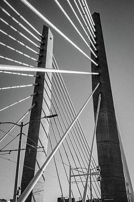 Photograph - Tillicum Crossing Bridge, Portland, Oregon by Frank DiMarco
