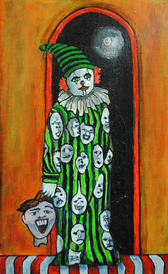 Painting - Tillies Clownmare by Patricia Arroyo