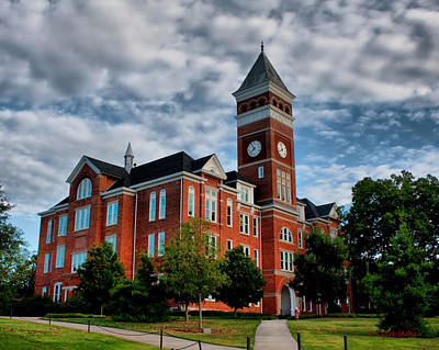 Clemson Photograph - Tillman Hall by Lynne Jenkins