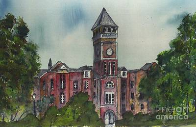 Tillman Hall One Clemson Art Print
