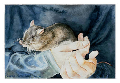 Tilly Art Print by Eileen Hale