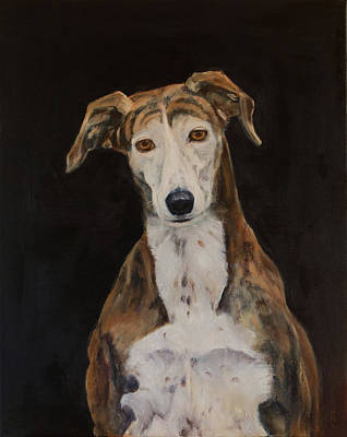 Tilly The Lurcher Original by Kathryn Bell