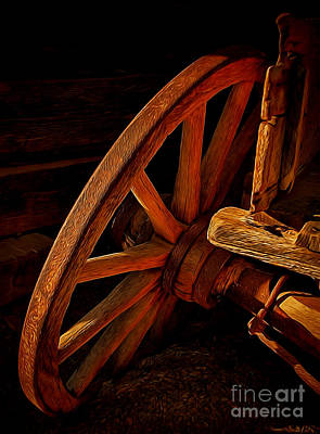 Photograph - Tilted Wheel by Dave Bosse