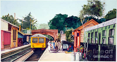 Painting - Tilton Station by Douglas Teller