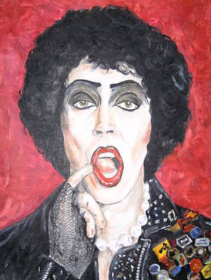 Tim Curry Painting - TIM by Deana Smith