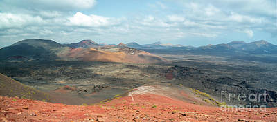 Photograph - Timanfaya Panorama by Delphimages Photo Creations