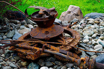 Photograph - Timber Gears Built The West by Michele Avanti