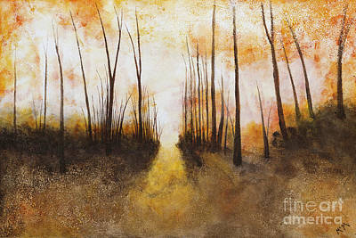 Painting - Timber Road Sunrise by Garry McMichael
